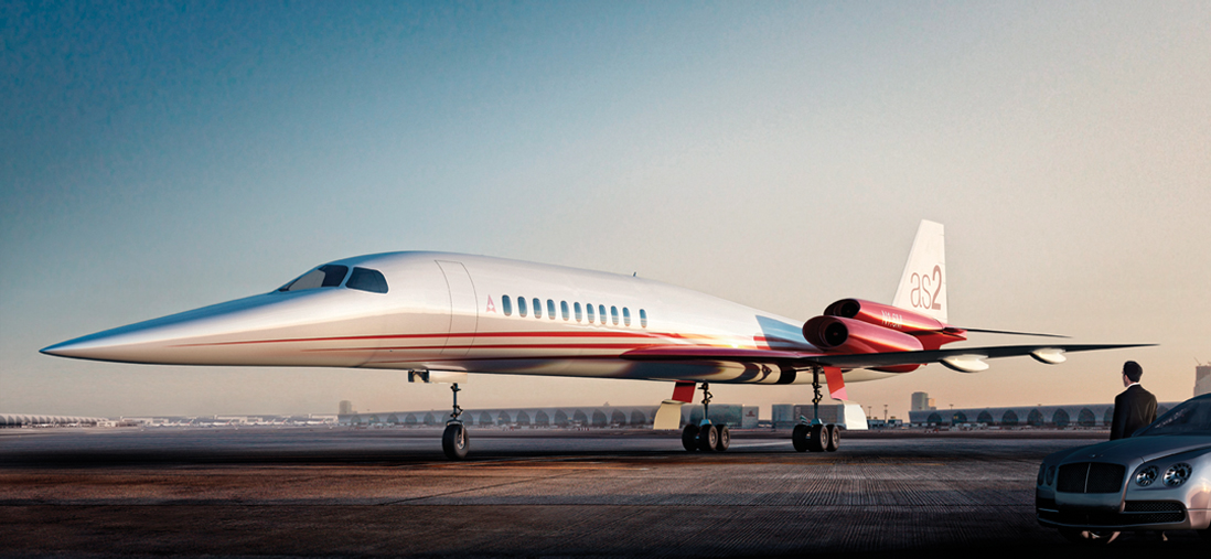 Aerion AS2 supersonic Biz-Jet