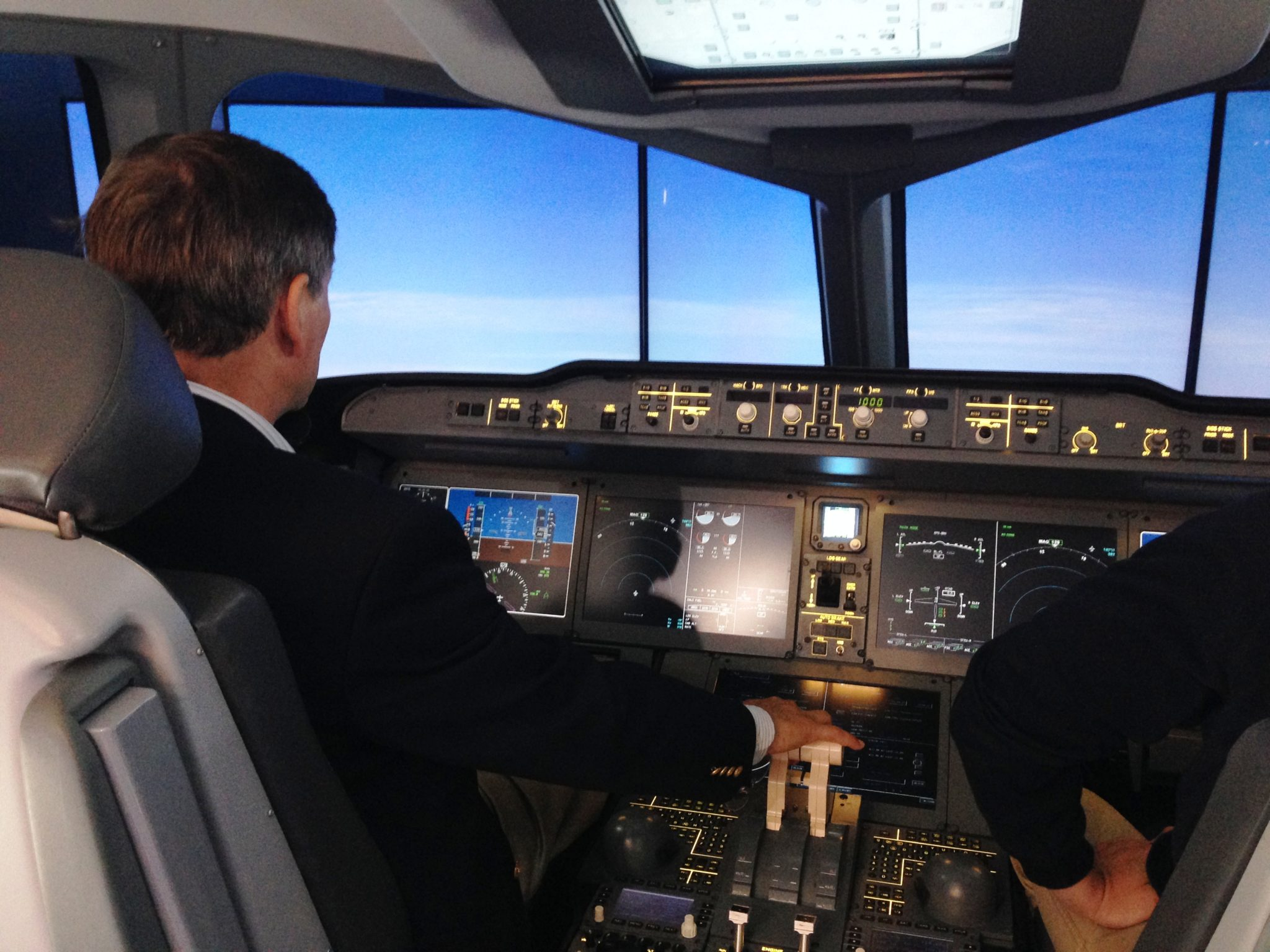 Image result for flight simulator of the MC-21-300 aircraft